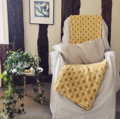 Reflexology Chair at Neal's Yard Remedies Bury St Edmunds