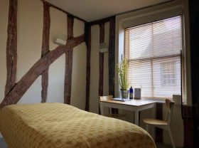 Treatment room at Neal's Yard Remedies Bury St Edmunds